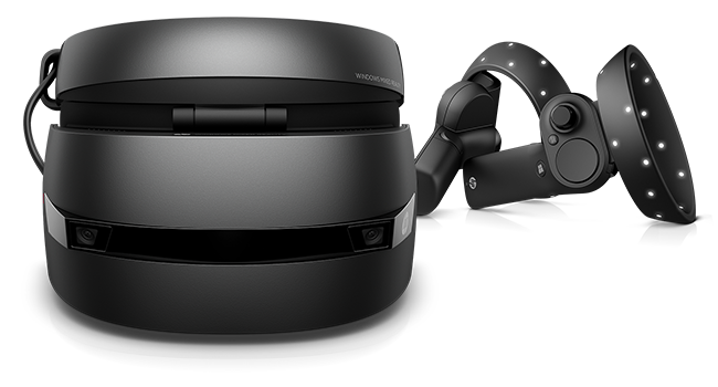 HP Windows Mixed Reality Headset front view