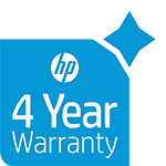 4 years warranty on selected HP PageWide printers