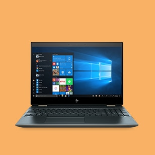 Spectre x360 front view
