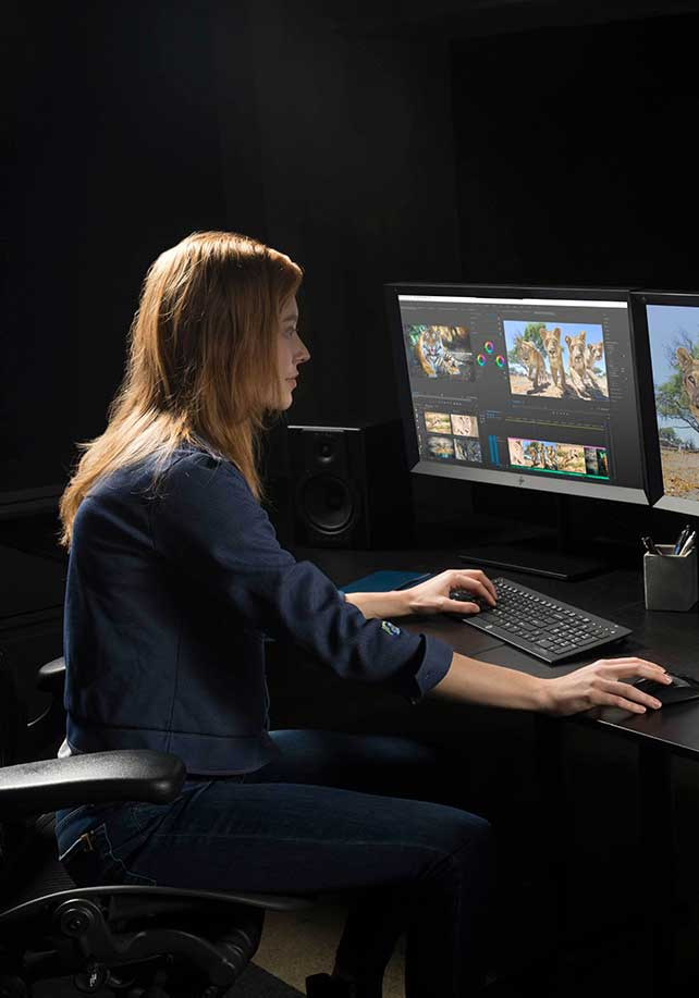Z8 workstation for video editors