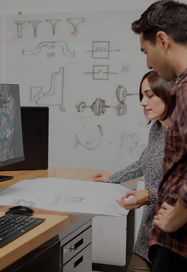 HP Z2 Small Form Factor in use by product designers