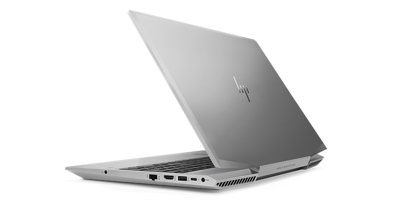 HP ZBook 15v rear view