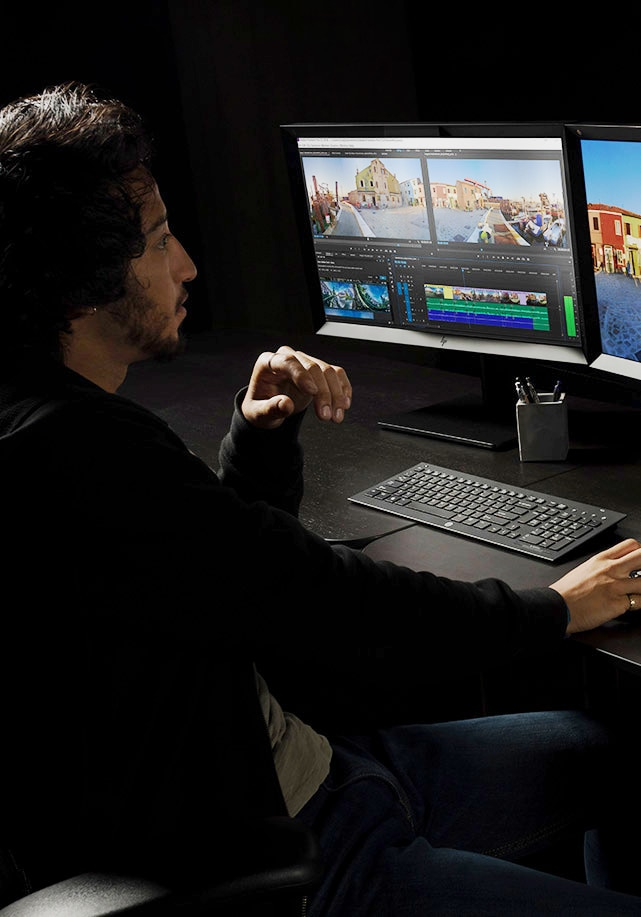 HP Zbook 17 laptop workstation in VR environment