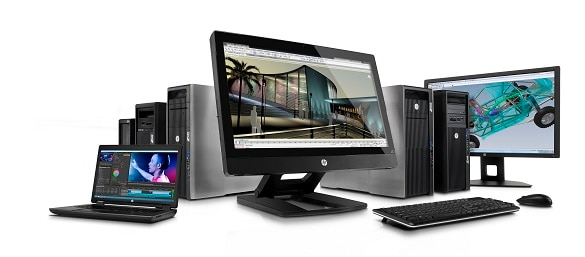 HP Workstation family