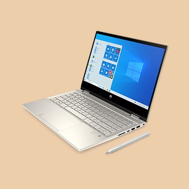 "HP Pavilion x360 14"" - Color: Oro cálido"