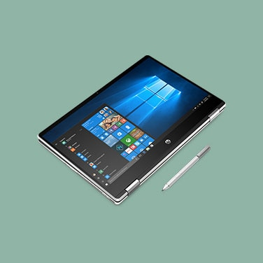 "HP Pavilion x360 14"" - Color: Plata Natural"