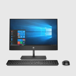 pro commercial all-in-one with windows10 screen, wireless keyboard and mouse