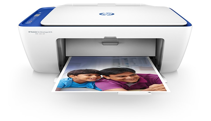 HP DeskJet 3700 compact and wireless all-in-one printer