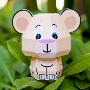 Disney's The Lion King Nala Cutie Papercraft
