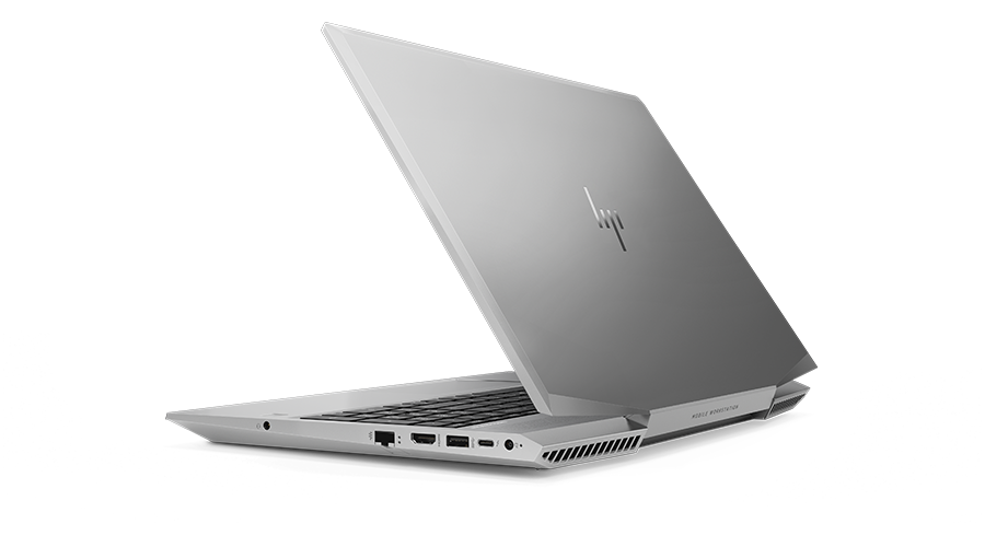 HP ZBook 15v left view from the back