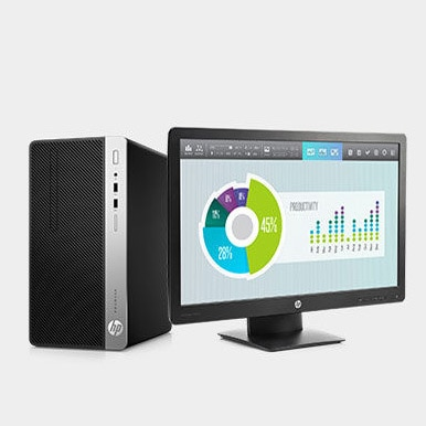 HP ProDesk con HP EliteDisplay