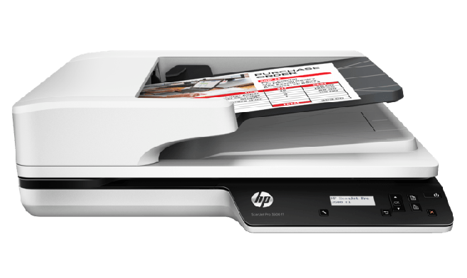 Scanner de base plana HP ScanJet Pro 3500 f1