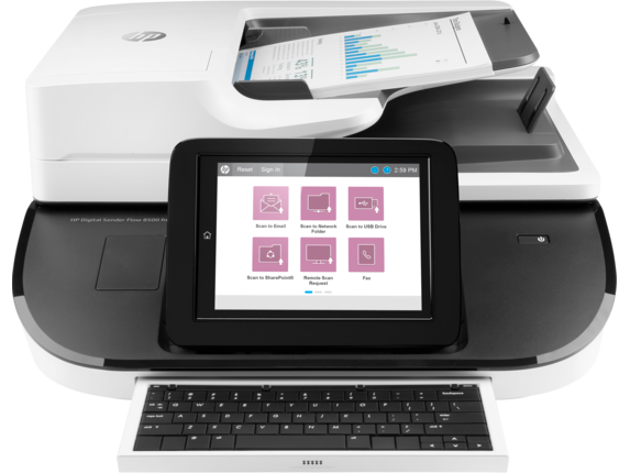 Scanner de documentos HP Digital Sender Flow 8500 fn2