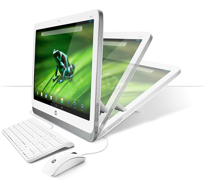 Computador de secretária All-In-One HP Slate 21