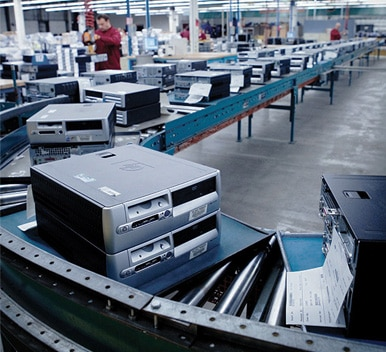 image of production line