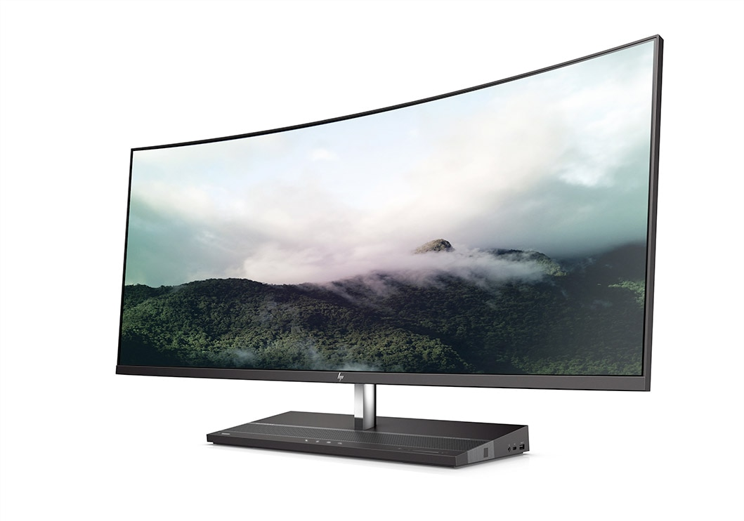 HP ELITEONE 1000 ALL-IN-ONE PC LEFT VIEW
