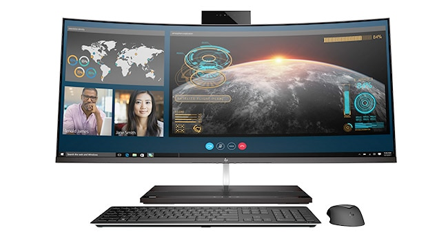 Front view of HP EliteOne 1000 All-in-One PC