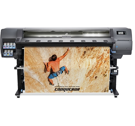 HP Latex 335 Printer - Take on more high-quality indoor/outdoor jobs with this affordable printer.
