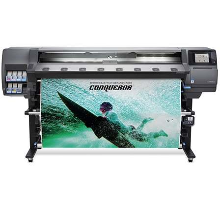 HP Latex 365 Printer - Conquer fast turnarounds with durable, high quality at production speed.