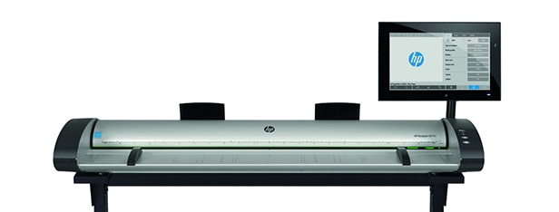 Front view of the HP SD Pro 44-in Scanner