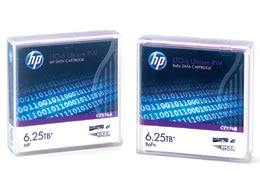 HP LTO-6 Ultrium storage media header
