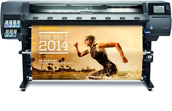 HP Latex 360 Printer - Conquer fast turnarounds with durable, high quality at production speed.