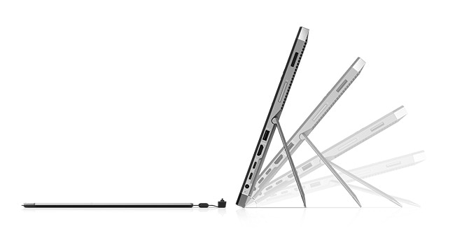ZBook x2 side view and tilt