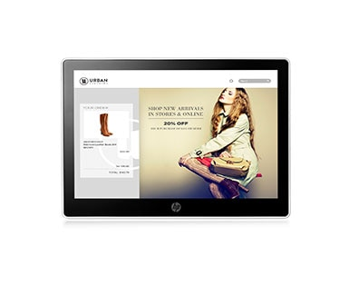 HP L7010t 10-inch Wide (Projective Capacitive) Touch Monitor