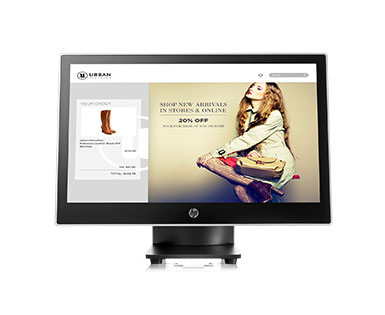 HP L7014t 14-inch Wide (Projective Capacitive) Touch Monitor