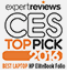 Best Laptop at CES 2016 awarded to the HP EliteBook Folio