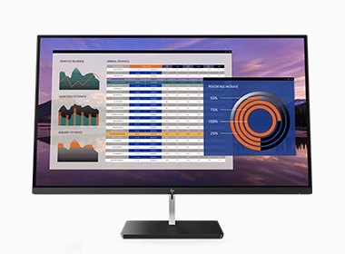 HP EliteDisplay S270n 4K Micro Edge Monitor