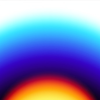 graphic design, orange, blue white colors gradient