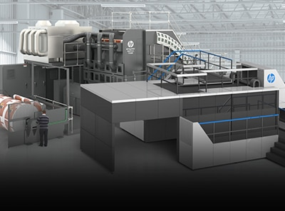 HP PageWide Industrial presses