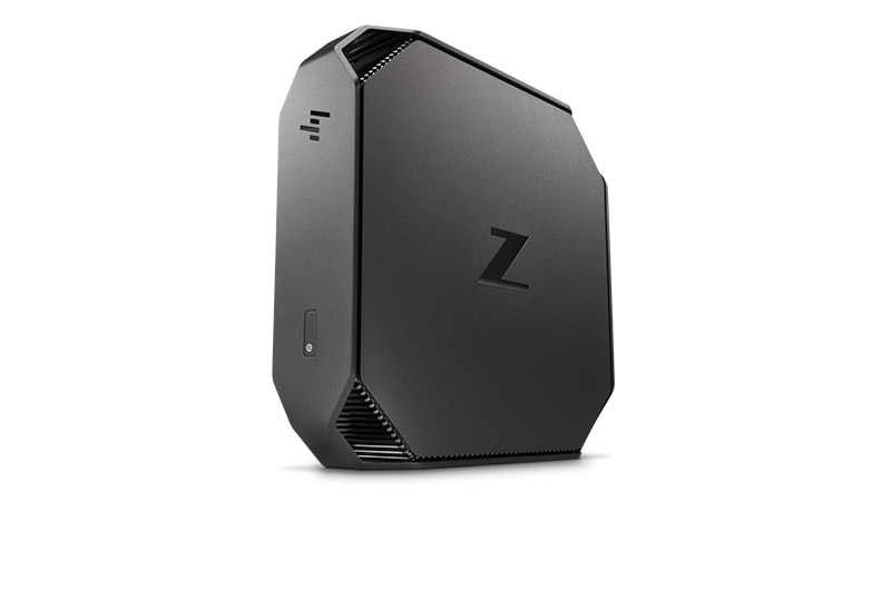 HP z2 mini workstation standed