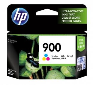 HP 900 Tri-color Original Ink Cartridge