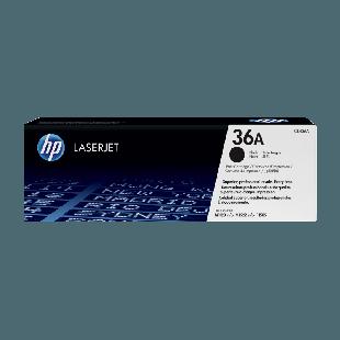 HP 36A Black Original LaserJet Toner Cartridge
