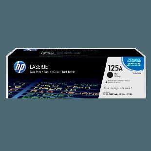 HP 125A 2-pack Black Original LaserJet Toner Cartridges