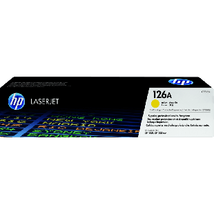 HP 126A Yellow Original LaserJet Toner Cartridge