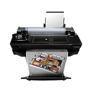 HP DesignJet T520 24-in Printer