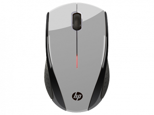 HP X3000 Silver Wireless Mouse