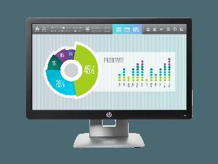 HP EliteDisplay E202 20-inch Monitor