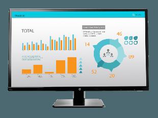 HP V272 27-inch Monitor