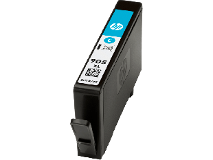 HP 905XL High Yield Cyan Original Ink Cartridge