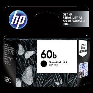 HP 60b Simple Black Original Ink Cartridge