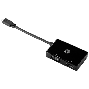 HP Micro HDMI to HDMI/VGA Adapter