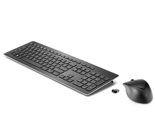HP Wireless Premium Keyboard with  Mouse