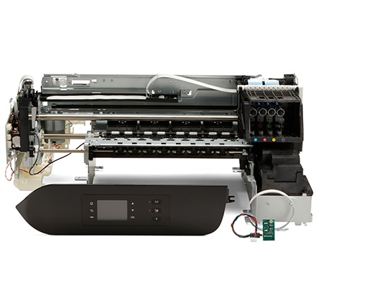 Rugged workhorse for larger run label print jobs and those requiring multiple ink types.