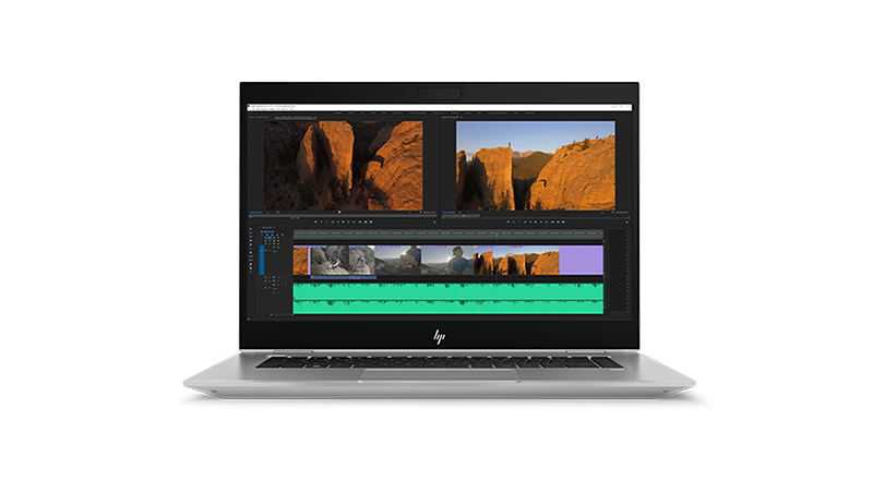 HP ZBook Studio 正中視角