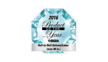 HP Latex 1500 selected as an SGIA Product of the Year.