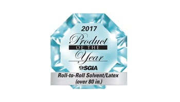 HP Latex 3600 selected as an SGIA Product of the Year.
